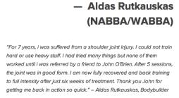 Aldas Rutkauskas NABBA WABBA 2