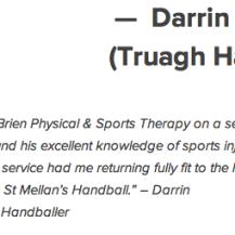Darrin O'Reilly Truagh Handball
