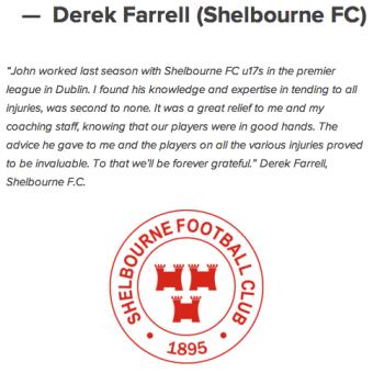 Derek Farrell Shelbourne FC