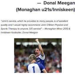Donal Meegan Monaghan u21s Inniskeen