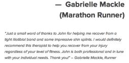Gabrielle Mackle Marathon Runner