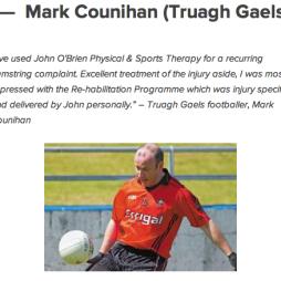 Mark Counihan Truagh Gaels