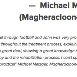 Michael Metzger Magheracloone GAA