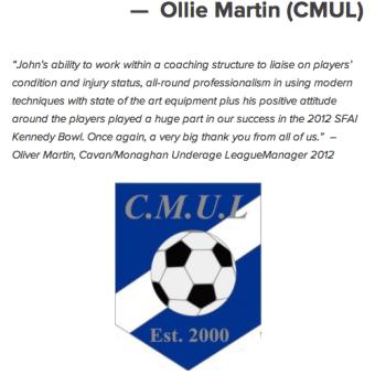 Ollie Martin CMUL