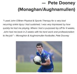 Pete Dooney Monaghan Aughnamullen