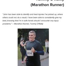 Tommy O'Reilly Marathon Runner