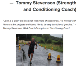 Tommy Stevenson Strength and Conditioning Coach